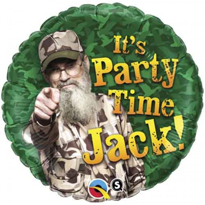 """18"""" Duck Dynasty It's Party Time Jack"""