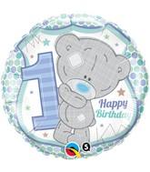 "18"" Tatty Teddy 1st Birthday Boyl Balloon"