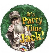 "18"" Duck Dynasty It's Party Time Jack"