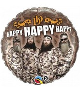 "18"" Duck Dynasty Happy Happy Happy"