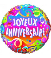 18 Joyeux anniversaire – Confetti ballon (emballé)