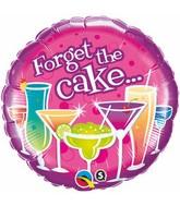 "18"" The Cake Birthday Packaged Mylar Balloon"