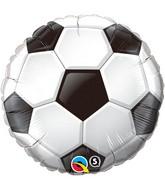 "18"" Soccer Ball Packaged Mylar Balloon"