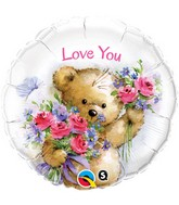 "18"" Love You Bear Balloon"