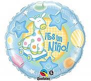 "18"" Es Un Nino Soft Giraffe"