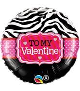"18"" Happy Valentine's Day Dazzling Hearts"