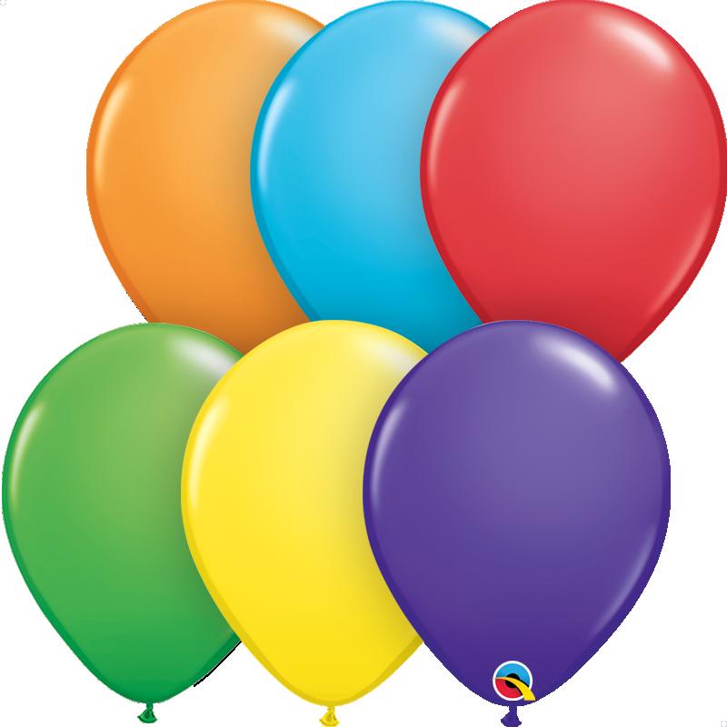 Multicolor Madagascar 18 Qualatex Foil Balloon