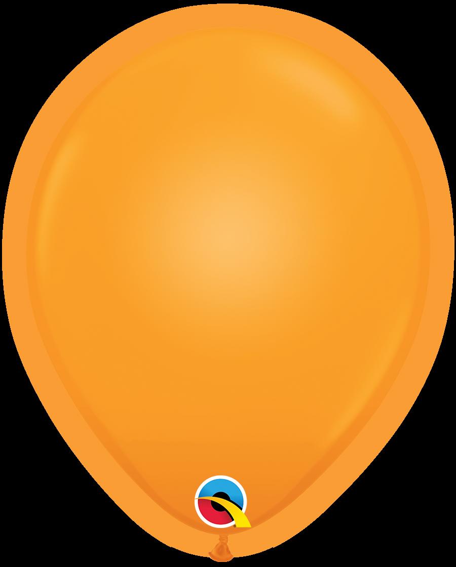 "10"" Q-Lite Orange5 Count Qualatex Light Up Latex Balloons"