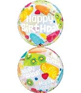 """22"""" Single Bubble Birthday Frozen Treats"""