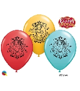 "11"" 6CT Assorted Disney Elena Of Avalor Latex Balloons"