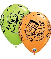 "11"" Halloween Fun! Latex Balloon"