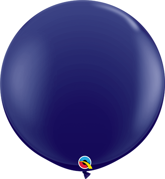 Navy Blue 12 Inch Qualatex Quick Link Latex Balloons