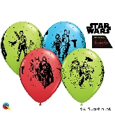 """11"""" Star Wars: The Last Jedi Latex Balloons Count"""