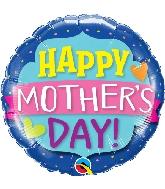 "18"" Mother's Day Emblem Banner Foil Balloon"