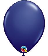 "5"" Qualatex Latex Balloons  Navy 100CT"