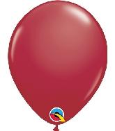 """5"""" Qualatex Latex Balloons  Maroon 100CT"""