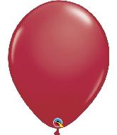 """16"""" Qualatex Latex Balloons  Maroon 50CT"""
