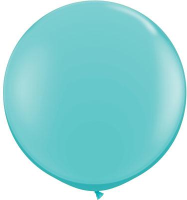 "36"" Qualatex Latex Balloons (2 Pack)  Caribbean Blue"