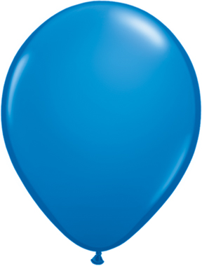 "9""  Qualatex Latex Balloons  DARK BLUE  100CT"