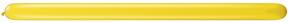 260Q  Jewel Citrine Yellow Twisting Animal Balloons