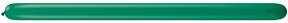 260Q Jewel Emerald Green Twisting Animal Balloons