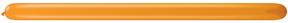 260Q Jewel Mandarin Orange Twisting Animal Balloons