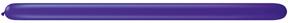 260Q Jewel Quartz Purple Twisting Animal Balloons