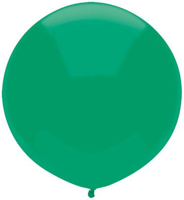 """17"""" Outdoor Display Balloons (72 Count) Deep Jade"""