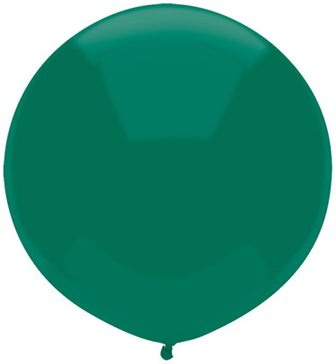 """17"""" Outdoor Display Balloons (72 Count) Forest Green"""