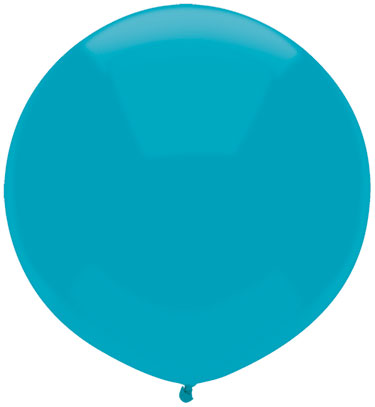 """17"""" Outdoor Display Balloons (72 Count) Island Blue"""