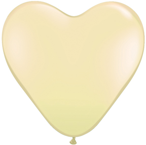 """15"""" Ivory Silk Latex Balloons (50 Count)"""