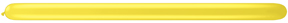 260Q Yellow Twister Balloons 50 Count Q-PAK