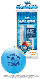 """14"""" The Smurfs 1 ct. Punch Ball"""