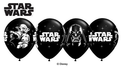 "11"" Onyx Black 25 Count Star Wars"