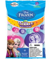 Party Banner Balloons 10 Count Frozen