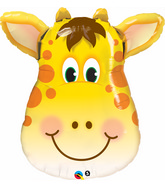 "32"" Jolly Mylar Giraffe Balloon"