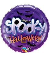 "18"" Spooky Halloween Balloon Packaged"