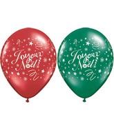 """11"""" Joyeux Noel Festivite Assortment (50 Count)"""