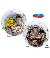 "22"" Duck Dynasty Bubble Balloons"