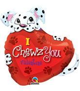 "27"" Puppy-I Chewz You Valentine"