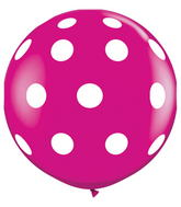 "36"" Big Polka Dots Wild Berry (2 ct.)"