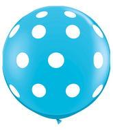 "36"" Big Polka Dots Robin's Egg Blue (2 ct.)"