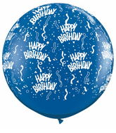 3' Birthday-A-Round Sapphire Blue (2 ct.)
