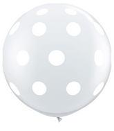 "36"" Big Polka Dots Diamond Clear (2 ct.)"