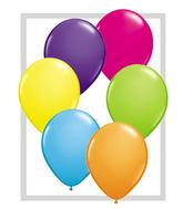 "5""  Qualatex Latex Balloons  Tropical 100CT"