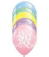 "11"" Heavenly Baby Shower Pastel Assortment (50 ct.)"