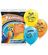 Turbo Racing Team Balloons Mylar Balloons