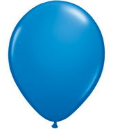 "9""  Qualatex Latex Balloons  DARK BLUE  100CT"
