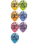 Music/Dance Mylar Balloons