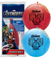 """14"""" The Avengers 1 ct. Punch Ball"""